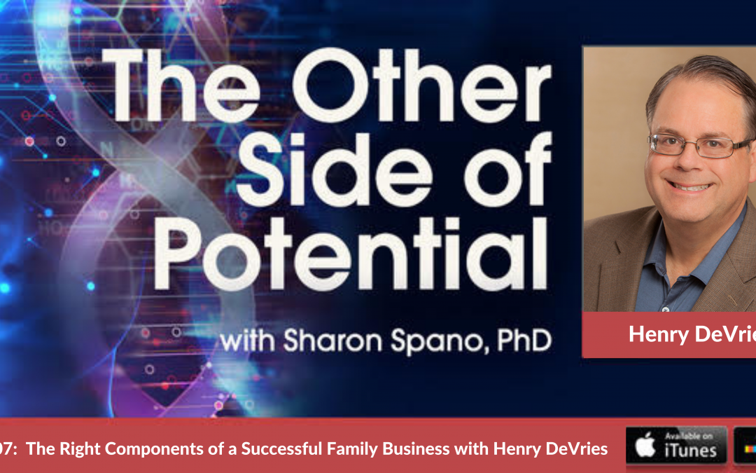 The Right Components of a Successful Family Business with Henry DeVries, CEO of Indie Books International