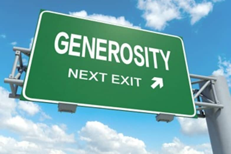 How Generous Are You?