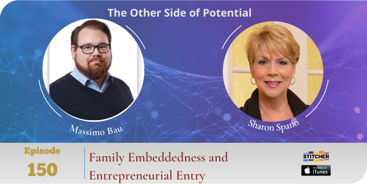 Family Embeddedness and Entrepreneurial Entry with Dr. Massimo Bau